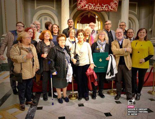 Entrega de la medalla de oro de Valencia a Salvem el Cabanyal