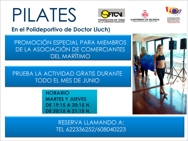 oferta pilates acipmar