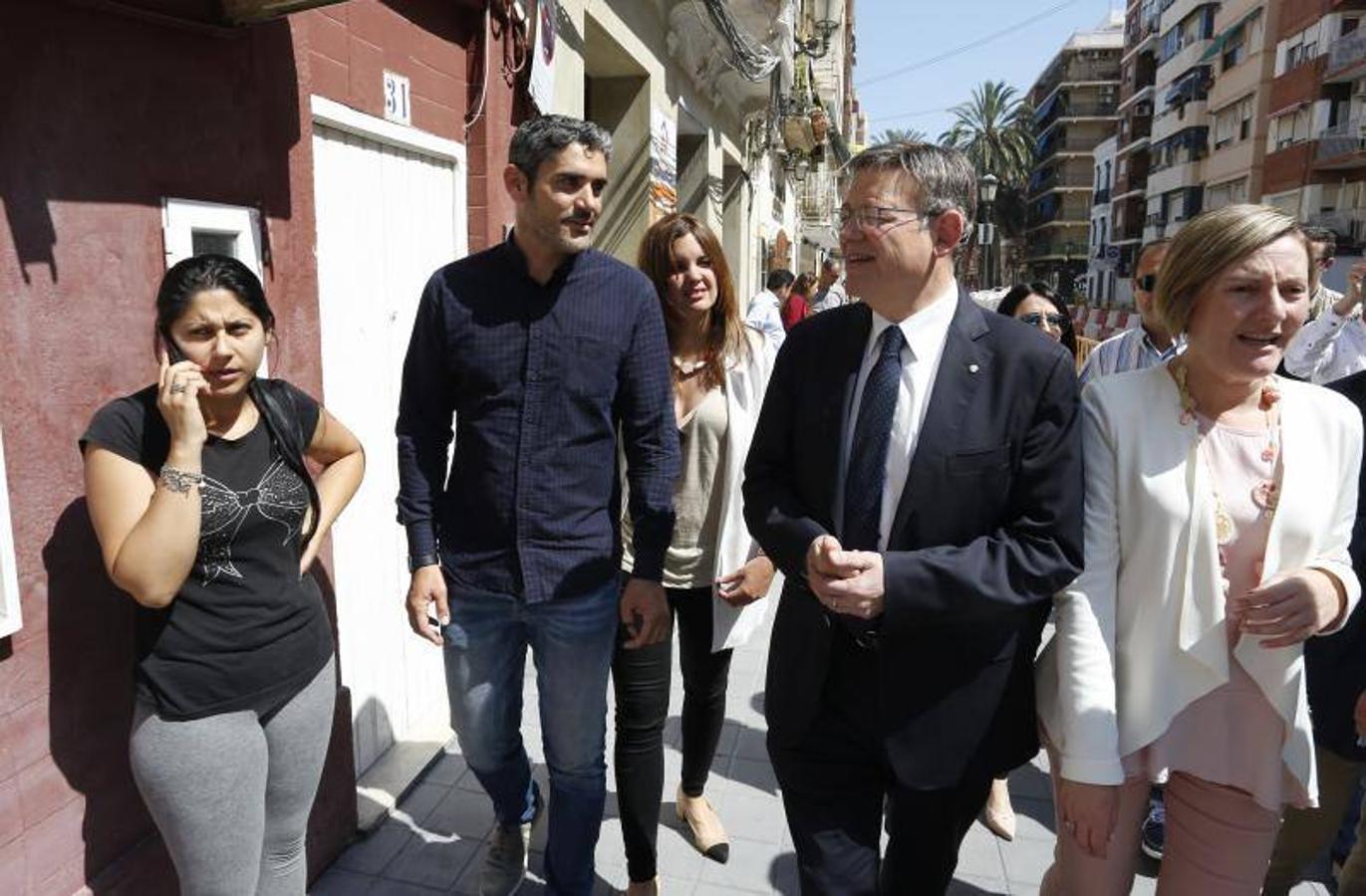 Acipmar visitando las obras del cabanyal con autoridades (4)