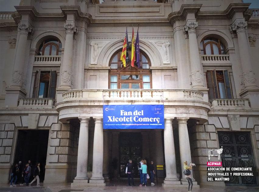 Ayuntamiento de Valencia. Pequeño Comercio Es su turno