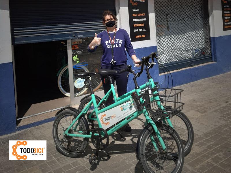 Todobici Valencia ofrece gratis su flota de bicicletas a los trabajadores esenciales