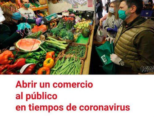 """Guía """"Abrir un comercio al público en tiempos del Coronavirus"""