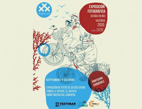 Invitación a la Exposición fotográfica 30 Días en Bici